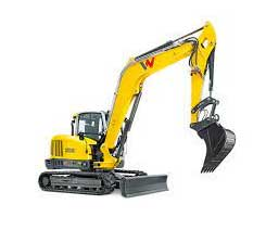 Mini excavator rentals in Northern BC